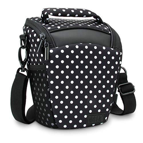 Portable DSLR Camera Case Bag with Top Loading Accesibility