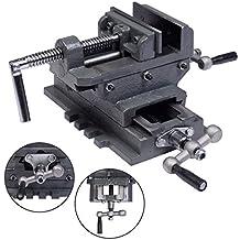 "New 4"" Cross Drill Press Vise X-Y Clamp Machine Slide Metal Milling 2 Way HD"
