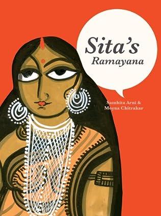 book cover of Sita\'s Ramayana