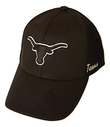 Top of the World Texas Longhorns Stretch One-Fit Youth Hat, Cap Size 6 1/2-6 7/8 ()