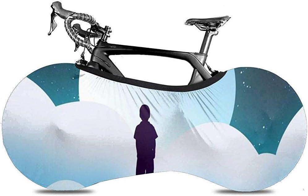 LisaArticles Funda para Bicicleta,Lonely Boy En The Mountain Moon ...
