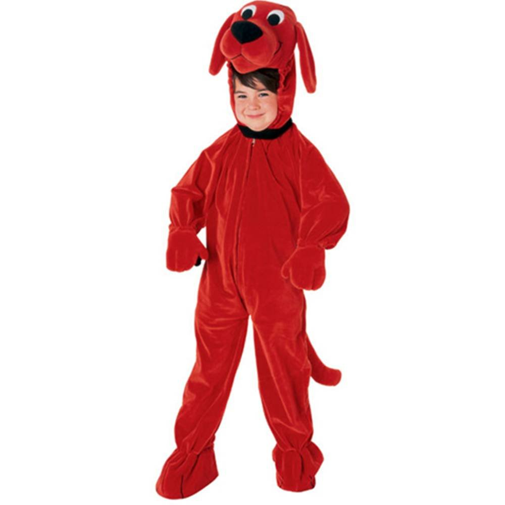 Clifford The Big ROT Dog Jumpsuit Toddler Costume 2T-4T