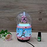 TOP Eiffel Tower Design Resin Water Globe humidifier,Automatic...