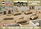 Flames Of War Model Kit - M4/fl-10 Sherman Platoon Tank - 1:100 Scale - Aarbx05