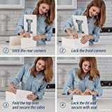 """[25-Pack] White Cake Boxes 10 x 10 x 5"""" With"""
