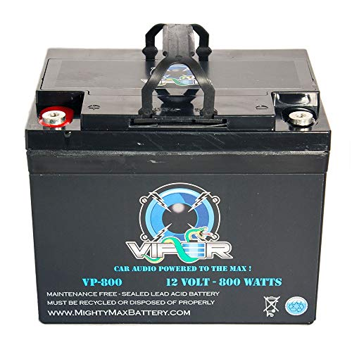 High Current Car Audio - Mighty Max Battery Viper VP-1200 12V 1200 Watt Car Audio High Current Power Cell Battery Brand Product
