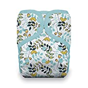 Thirsties Reusable Cloth Diaper, One Size Pocket Diaper, Snap Closure, Birdie