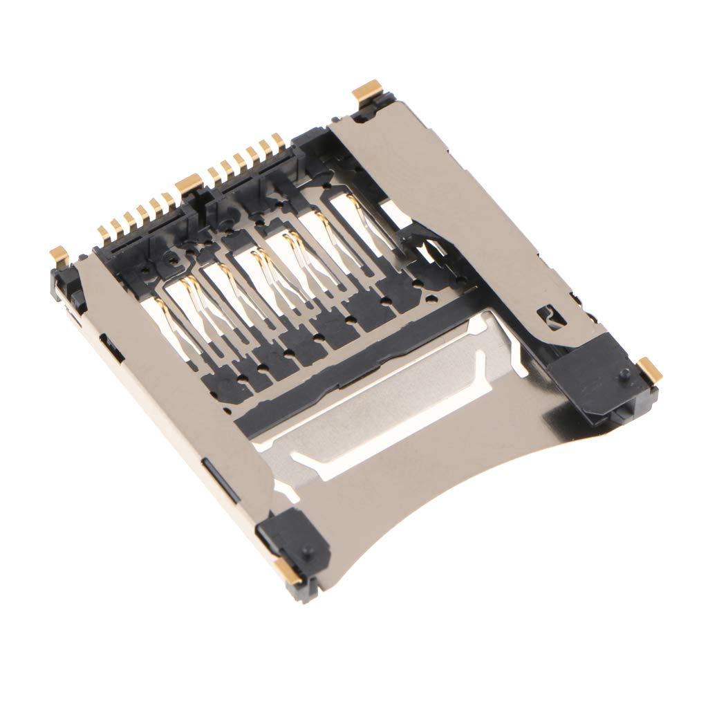 F Fityle Conector para Tarjeta de Memoria SD Compatible con Nikon D3300 D810 D750 D70