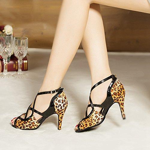 Miyoopark , Salle de bal femme - marron - Leopard-8.5cm heel, 35