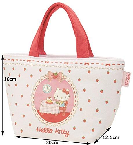 Sanrio Hello Kitty Borse da picnic Pranzo Sacchetto di Tote Bag di Matita di Colore, Taglia S Sudore tessuto KNB1