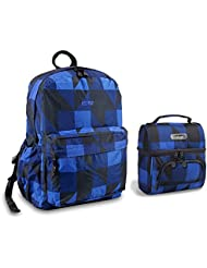 J World Campus Back to School Fashion Backpack and Lunch Bag Oz / Corey Series
