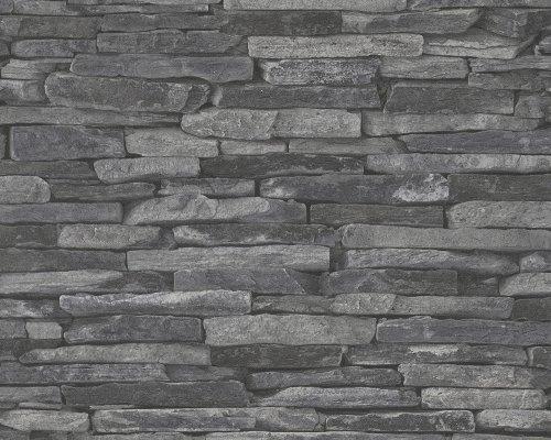 AS-Creation-de-madera-con-piedra-de-la-pizarra-piedra-natural-de-imagen-de-papel-pintado