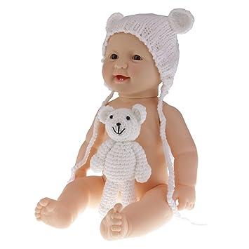 de334daa61127 Baoblaze Poupée Bébé Corps Sans Vêtements Réaliste Mignon Cadeaux Jouet  Enfant 50cm - Fille Blanche