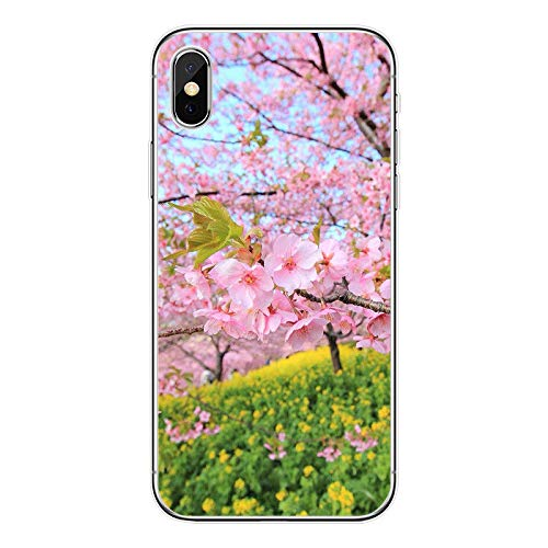 Deal Market LLC - Floral Flower Pattern Rose Marigold Lily Sunflower Tulip Lace Hard Rubber Phone Case for Apple iPhone XR. Made and Shipped from USA Includes 1 Screen -