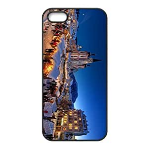 The Beautiful Snownight In Christmas Hight Quality Plastic Case for Iphone 5s