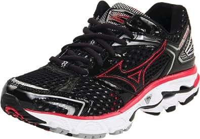 Mizuno Women's Wave Inspire 7 Running Shoe,Anthracite/Raspberry,11.5 M US