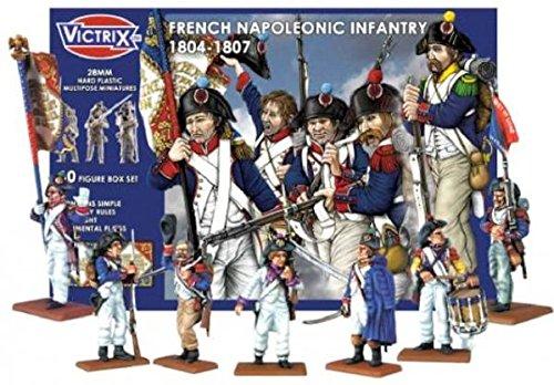 1804-1807 French Napoleonic Infantry (60) 28mm Victrix Ltd