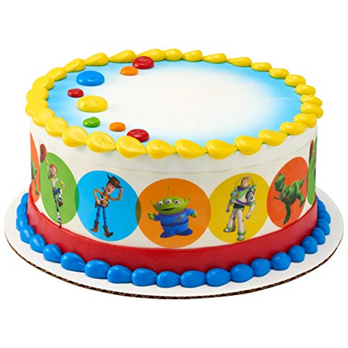 Toy Story Edible Cake Border - Set of 3 Strips (Toy Story Edible Images)