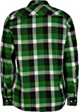 STRAIGHT FADED Mod Mens Flannel Shirt