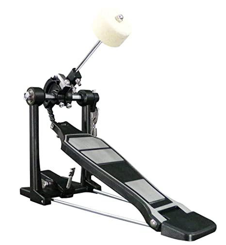 Amazon.com: Foraineam Drum Kit Pedals Heavy Duty Single Bass Drum Pedal: Musical Instruments