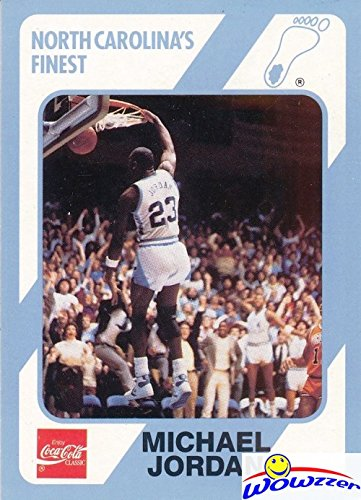 Michael Jordan 1989 North Carolina Tar Heels Collegiate Collection #16 College ROOKIE Card in Mint Condition ! Shipped in Ultra Pro Top Loader to Protect it !