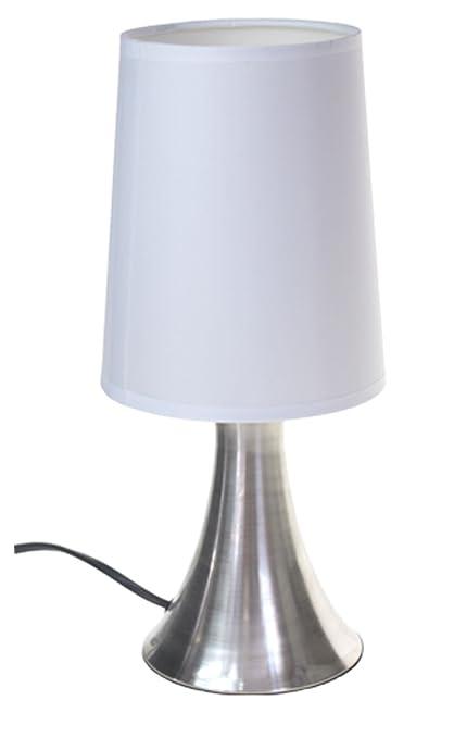 Lampe De Chevet Turin Touch Tactile S Allume Au Toucher 3