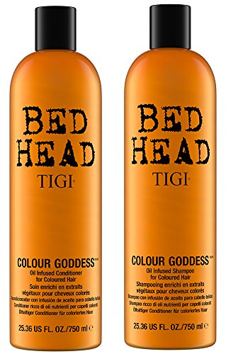 Tigi Bed Head Colour Goddess 25.36oz (Shine Therapy Straightener)