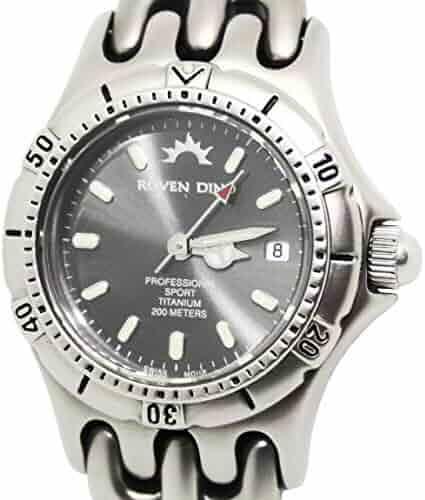 Roven Dino Talon Ladies Titanium Swiss Watch 8008WXX12