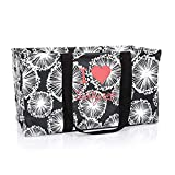 Thirty One Large Utility Tote in Dandelion Dream - No Monogram - 3121