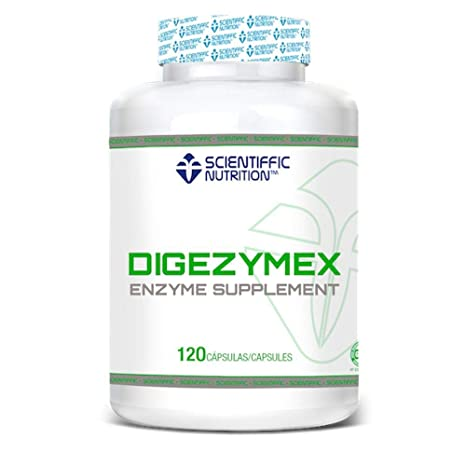 SCIENTIFFIC NUTRITION DIGEZYMEX ENZIMAS DIGESTIVAS 120 Cap: Amazon ...
