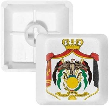 DIYthinker Jordan Emblema Nacional Teclas Pbt País para ...