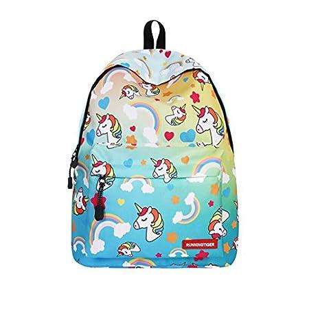 Blanketswarm Mochila de unicornio para niños, unisex, ligera, de gran capacidad, para