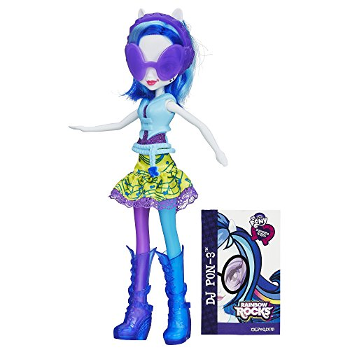 My Little Pony Equestria Girls Rainbow Rocks DJ PON-3 Doll]()