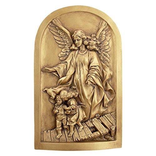 Design Toscano God Guardian Angel Wall Sculpture