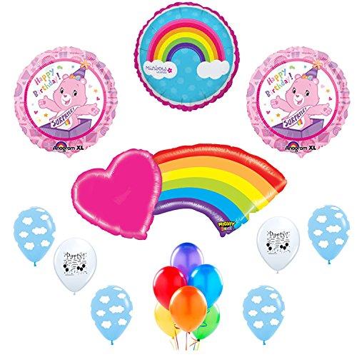 Care Bears Happy Birthday Party Balloon Decoration (Care Bears Birthday)