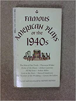 Book Famous American Plays of the 1940s