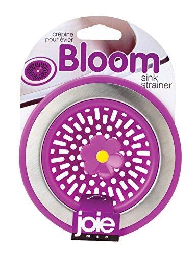 Joie Kitchen Sink Strainer Basket, Bloom Flower Design, Random Color