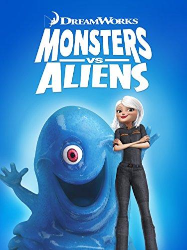 Monsters vs. Aliens (Good Movie For Kids And Adults)