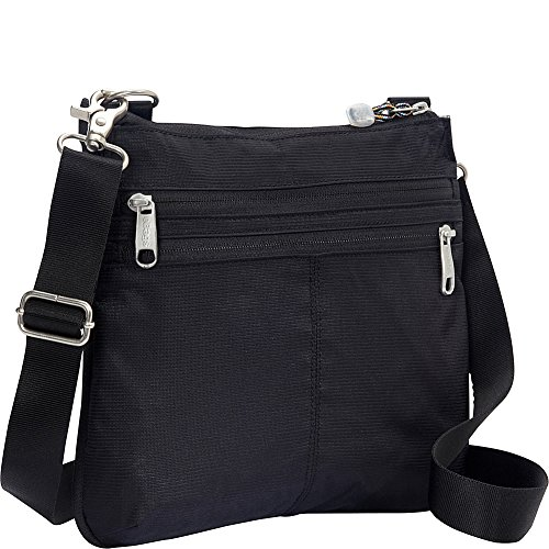 eBags Villa Crossbody 2.0 with RFID Security (Black)