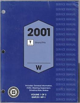 2001 grand prix service manual
