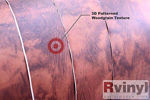 """Vvivid 24/"""" x 48/"""" Maple wood knotty vinyl wrap decal"""