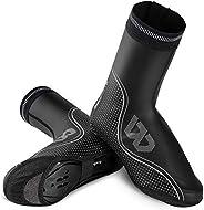 Lixada Cycling Shoe Covers Winter Waterproof Windproof Warmer Mountain Road Bike Shoe Cover Outdoor Sports Rai