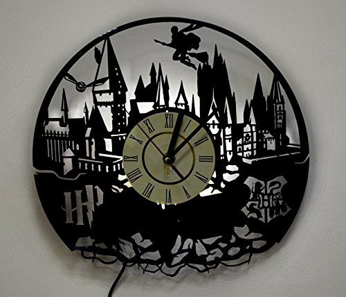 Harry Potter Hogwarts Wall Light, Night Light Function, Original Kids Room Interior - 1 Collection Light Potter