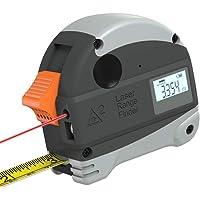 Digital Laser Meetlint, 5 meter stalen meetlint 30 Meter Infrarood afstandsmeter Digital Direct Reading USB opladen waterdicht voor Construction Teaching