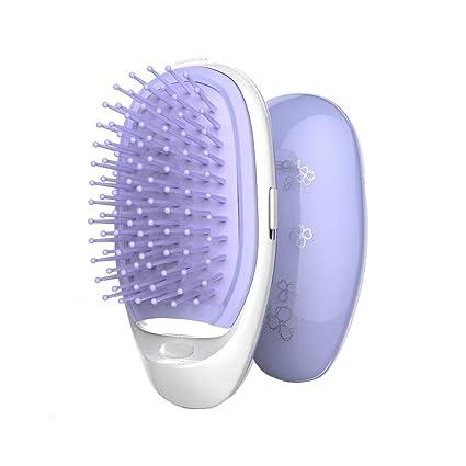 Cepillo para el Cabello,Cepillo de Pelo con tecnología iónica, Cepillo alisador de Pelo