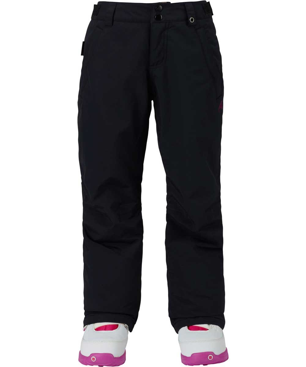 Burton Kids Girls Sweetart Snow Pants True Black Size Large