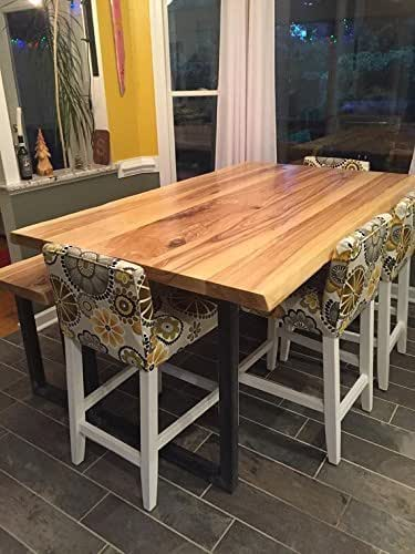 Amazon Com Handcrafted Live Edge Ash Dining Tables Handmade