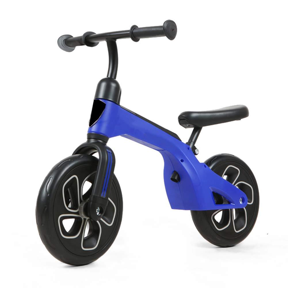 Blau 27.5Zoll Kinder Fahrrad,Kostenloser fahrradverleih fuß Sport Balance Fahrrad Baby Scooter Kinder helfen Auto zu fuß-Blau 27.5Zoll