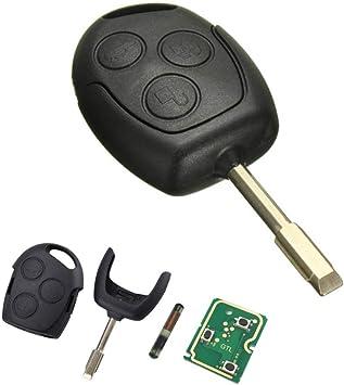 Schlüssel Gehäuse Schale Klinge Fernbedienung 3 Tasten Elektronik