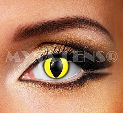 c97c7ff346d950 Lentilles De Contact  De Couleur  crazy lense oeil de chat (sans correction
